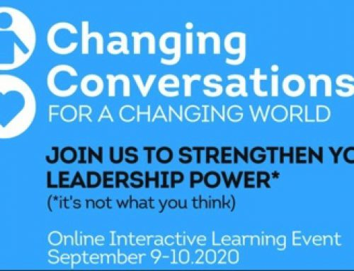 "Uitnodiging ""Changing Conversations for a Changing World"""
